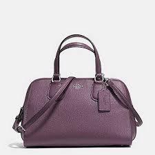 2017 Authentic Coach Purple Hobos Handbags