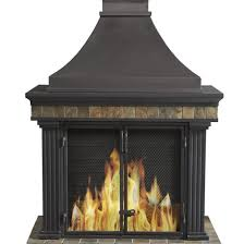 photo 3 of 9 outdoor fireplace gas chiminea outdoor fireplace 3