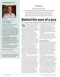 Behind the eyes of a jury