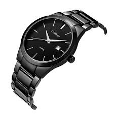 amazon com voeons men s watches classic black steel band quartz amazon com voeons men s watches classic black steel band quartz analog wrist watch for men watches