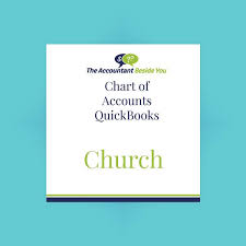 Quickbooks For Churches Chart Of Accounts Church Chart Of Accounts Quickbooks