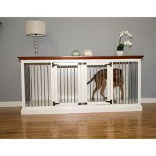pet crate furniture. Brooke Double Wide Large Credenza Pet Crate Furniture C