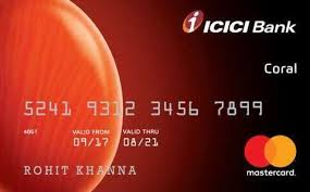 Icici Bank Coral Credit Card Offers 10 000 Payback Points At