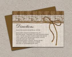 directions card etsy Wedding Invitation Direction Inserts diy printable rustic wedding direction cards enclosure cards with burlap and lace, wedding information cards wedding invitation direction inserts template