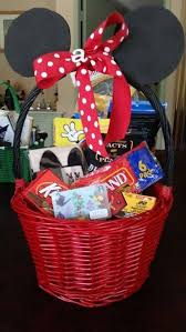 mickey mouse easter basket