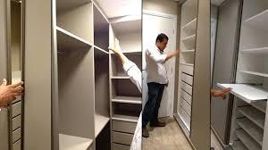 quarto de casal planejado com closet armário embutido e banheiro planejado you