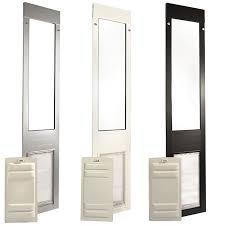 dog door panel for sliding glass doors