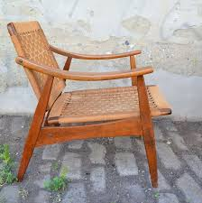 mid century modern pair of mid century modern arm chairs made in yugoslavia for