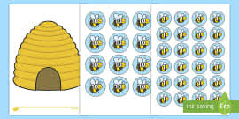 Bee Behaviour Chart Busy Bee Behavior Chart Behavior Management Plan