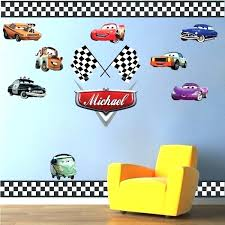 car wall decal plus wall decals for kids personalized boys race car name decal car wall car wall decal