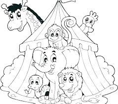 circus themed coloring pages lion book also recent posts theme preschool