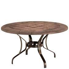 51 inch round dining table