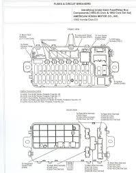 1993 accord ex 4dr under dash fuse diagram honda tech honda thanks in advance