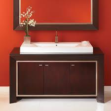 Dark Red Bathroom Decolav 5660 Rm City View Bathroom Vanity Classic Dark Red Mahogany