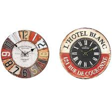 office wall clocks. Battery Wall Clocks Inch Round Wood Office Hanging Watch Home Decor Uk