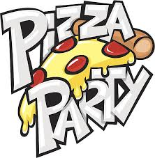 pizza party clipart black and white. Unique Black Pizza Party Vector Art Illustration And Pizza Party Clipart Black White A