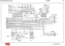 detroit diesel ddec ii engine electrical wiring diagrams sk20627 jpg