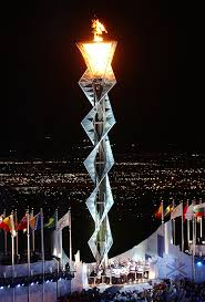 flame lighting olympics. file:2002 winter olympics flame.jpg flame lighting a
