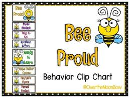 Bee Behaviour Chart Bee Positive Behavior Management Worksheets Teaching