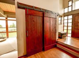red sliding barn door. See More Of Our Work » Red Sliding Barn Door D