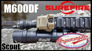 Surefire M600df Scout 1 500 Lumen Weapon Light The Best Rifle Light Ever