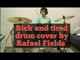 Sick And Tired -Iann Dior, MGK, Travis Barker | Drum Cover By Rafael Fields  (13 y/o) - YouTube