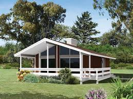 lake house plans. Contemporary Lake Rustic Vacation Home With Broad Covered Front Deck In Lake House Plans O