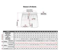 Volleyball Size Chart Standard Sizing Chart Professional Fit Willix Sports