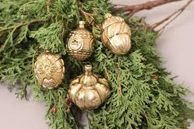 Christbaumschmuck Weihnachtskugeln Zapfen Gold Glitter Set Advent Weihnachten
