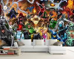 avengers photo wallpaper marvel comics wall mural custom 3d wallpaper children bedroom office hotel school room  on marvel comics mural wall graphic with avengers photo wallpaper marvel comics wall mural custom 3d