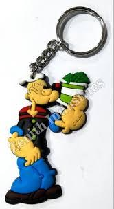 PVC Popeye <b>Cartoon</b> Keychain, Packaging Type: Packet, Rs <b>5</b> ...