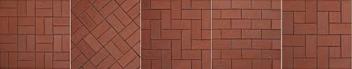 brick installation how to choose the best tile pattern layout