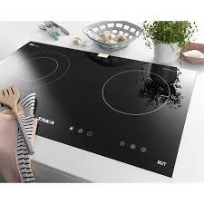 Bếp 1 Từ+1 Hồng Ngoại Kính Nhập Khẩu Nhật Bản TAKA - Bếp điện kết hợp  Thương hiệu Taka