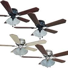 42 inch flush mount hugger ceiling fan w light kit oil rubbedbronze satin nickel