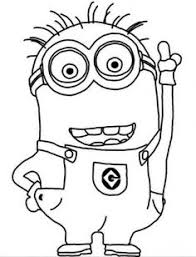 Small Picture Minions free coloring pages for kids 01 doodles Pinterest Cards