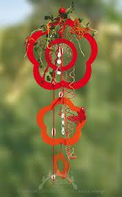 Fensterdeko Blume Rot Flor Bestückt Fensterschmuck