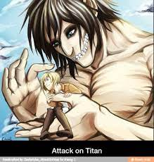 Eren yēgā), eren jaeger in the funimation dub and subtitles of the anime, is a fictional character and the protagonist of the attack on titan. Attack On Titan Snk Eren Jaeger X Armin Arlert Eremin Attack On Titan Attack On Titan Eren Titans