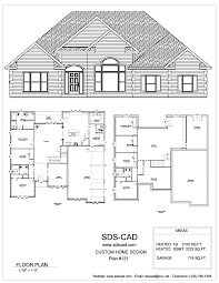 2d autocad house drawing idea with front small medium large