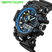 online get cheap g shock military watch aliexpress com alibaba mens watches 2017 sanda fashion watch men g style waterproof sports military watches shock luxury analog