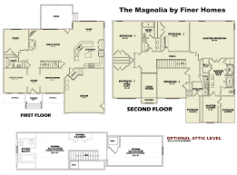 magnolia homes floor plans. Floor Plans. The Magnolia Floorplan By Finer Homes Of Chesterfield Plans