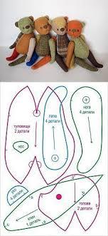 <b>мишки</b> Тедди | Мягкие игрушки, Пошив <b>игрушек</b> и <b>Плюшевые</b> узоры