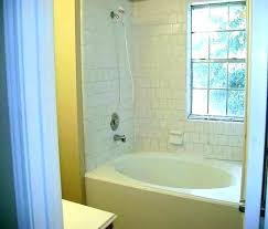 jetted tub shower combo corner whirlpool bathtub with interior jacuzzi