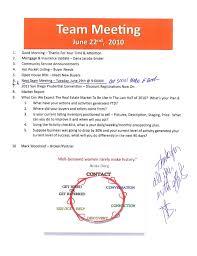 Sales Meeting Agenda Team Sales Meeting Agenda The Woodlands Tx Prudential