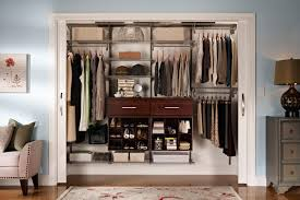 reach in closet sliding doors. Four Hanging Rods Opened Shelf Two Drawers Reach In California Closets With White Sliding Door Closet Doors