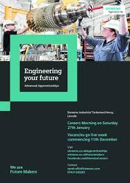 Design Engineer Jobs Lincoln Sir William Robertson Academy Siemens Apprenticeships
