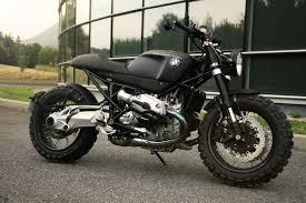 a scrambler motorcycle for lazareth based on a bmw r1200r team