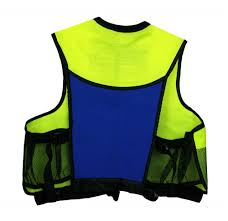 Deluxe Jacket Style Snorkel Vest With Pockets