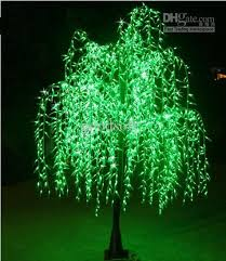 lighting outdoor trees. LED Tree Lights Outdoor Decor Christmas Light Party Wedding Led Artificial 2.5M Green Willow Lighting Trees