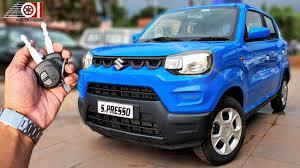 2020 Maruti Suzuki S Presso BS6 Starry Blue <b>Colour</b> | Price ...