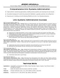 System Admin Resume Art Exhibition Linux System Administrator Resume